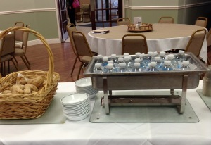 Fasting retreat bread and water